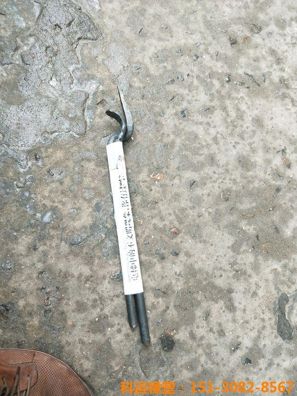 桥梁伸缩缝胶条安装扳手 桥梁伸缩缝胶条安装辅助撬棍4