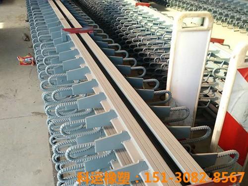 西安毛经理订购的E40型桥梁伸缩缝装置已发出