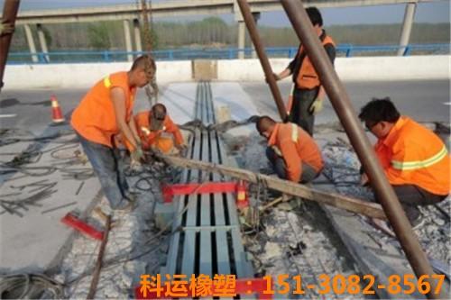 KY-D160、D80、F160、F80型桥梁伸缩缝的生产与安装3